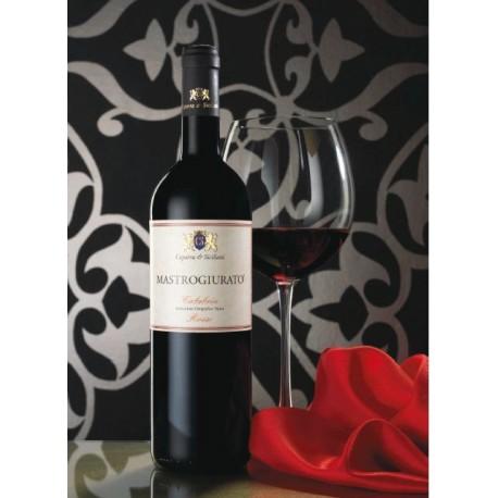 Vino mastrogiurato rosso classico cl 75