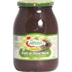 Attina' pate' di olive  nere ml 1062
