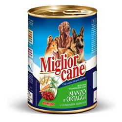 miglior cane bocconi manzo ortaggi gr. 400