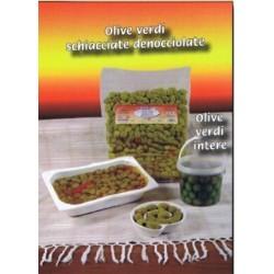 Olive verdi intere gr. 500