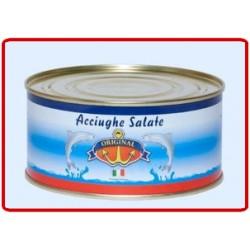 """Acciughe salate""""Curreri""""  Latta Kg 5"""