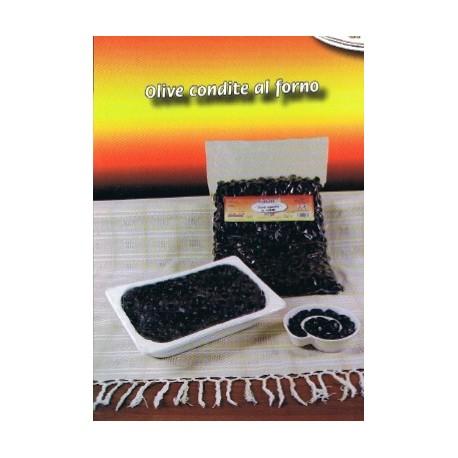 Olive condite al forno vaschetta gr. 350