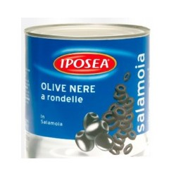 "Olive Nere a Rondelle ""IPOSEA"""