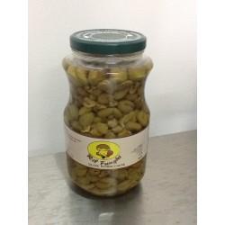 Olive schiacciate sott'olio ril funghi gr 3100