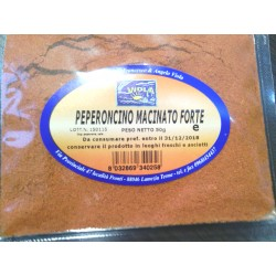 Peperoncino macinato fino piccante gr 100