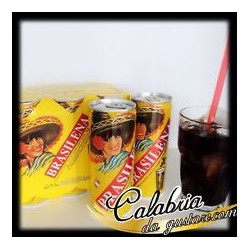 "Gassosa caffe' brasilena cl 25x6 lattine   ""gazzosa"""