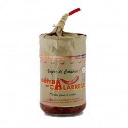 Bomba Calabrese Vasetto ml 314 mix di ortaggi e peperoncino piccante