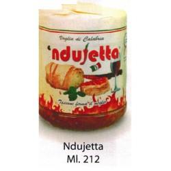 'Ndujetta calabrese vasetto da 212 ml