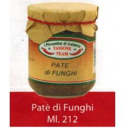 PATE' DI FUNGHI Vasetto ml.212