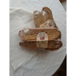 Frese lunghe con farina integrale gr. 500